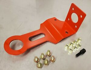 97-04 Chevy C5 Corvette Z06 Red Front Bumper Racing Tow Hook