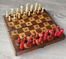 altes Schachspiel, Bein 19.Jahrhundert