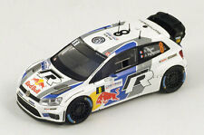 SPARK Volkswagen Polo WRC #8 World Champion Rally Francia 2013 Ogier S3314 1/43