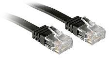 2x LAN Kabel 3m - CAT.6 Ethernet Gigabit Netzwerkkabel / Flachbandkabel / RJ-45