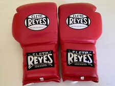 Cleto Reyes Lace-up Boxing Gloves - Red (16oz.)