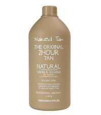 Naked Tan Natural Solution 8% DHATTan Solution - 2hr wash'n'wear Tanned