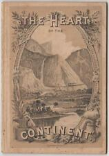 Donan. The Heart of the Continent. Western Railroad & Promotion. Chicago, 1882.