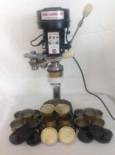 Electric Home Can Seamer Machine 73mm Diameter + 200 cans 200 Black plastic lids