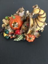 Charming Tails We Have Plenty To Be Thankful For Figurine