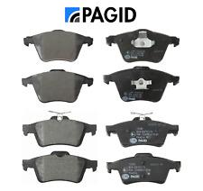 Front Brake Pads & Rear Brake Pads Set Pagid Volvo C30 C70 S40 V50 (320mm Disc)