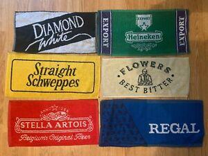 SIX NEW BAR TOWELS ASSORTED