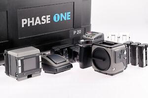 Hasselblad H2 SLR with PhaseOne H101 P20 Digital Medium Format