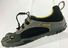 Vibram Fivefingers Running Shoes Bikila Black Grey Minimalist Womens 39 US 8,8.5