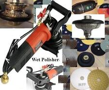 "Wet Polisher 2"" Full 3/4"" Ogee Bullnose Router 15 Pad granite concrete shaping"