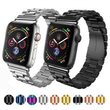 Para Apple Watch Serie 5 4 3 2 De Acero Inoxidable Pulsera Reloj Banda Correa 40/44mm