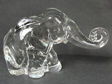 Heisey Glass Animal Crystal Clear Medium Mother Mama Elephant