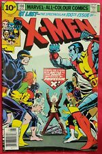 X-Men 100 Marvel 1976 Old X-Men vs New X-Men vfn