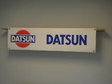 DATSUN Car Banner Garage Workshop Display Sunny Cherry Bluebird 240Z 280ZX