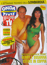 ONDA TIVU' 29 1991 Gerry Scotti Susanna Messaggio programmi TV
