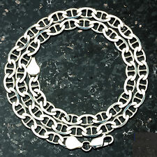 "MARINER 150-30"" 6mm Heavy 32 Gram Italian Chain .925 Sterling Silver Chain 30"""