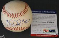 BRANDON WEEDEN Signed '06 High Desert Mavericks Game Used Baseball PSA/DNA Auto