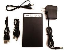 DC 12V 6500mAh / DC 9V 8500mAh / DC 5V 15000mAh Rechargeable Li-ion Battery