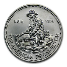1985 1 oz Silver Round - Engelhard Prospector (Eagle Reverse) - SKU #66558