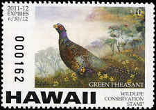 HAWAII #15,16,16A 2011 STAMPS W/MATCHING SERIAL NUMBERS. SUPRISE ISSUE!