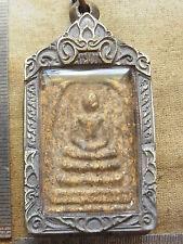 Somdej Toh Wat Rakhang Thai Buddha  160 yr old Pim Kettaloo Soom  bronze casing
