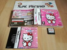 NINTENDO DS NDS HELLO KITTY DAILY DS COMPLETO PAL ESPAÑA