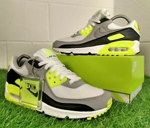 Nike Air Max 90 OG Recraft 2020 Volt Green Trainers UK 7.5 EU 42 CD0881-103