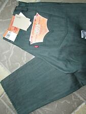 NEW LEVIS 501 STRAIGHT LEG BUTTON FLY JEANS MENS 30X30 GREEN 005011927 FREE SHIP