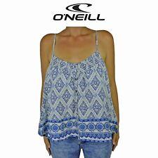 Womens O'Neill Billie Surf Beach Button Modern Summer Sleeveless Top Tank O1.5
