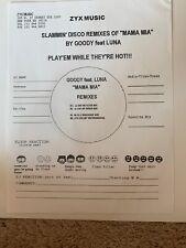 "Goody Feat. Luna Mama Mia Remixes 12"" Single DJ Vinyl German Pressing"
