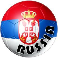 decal sticker worldcup car bumper flag team soccer ball foot football russia