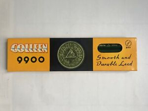 """12 VINTAGE COLLEEN PENCILS: COMPLETE BOX OF """"9900""""  H - MADE IN JAPAN - UNUSED"""
