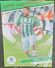 2020-21 Chronicles Soccer Prestige La Liga #19 NABIL FEKIR Real Betis Balompié