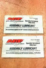 ARP .5oz Assembly Lubricant 100-9902 LOT OF 2 FREE SHIPPING