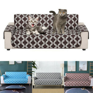 Printed Living Room Home Couch Waterproof Pad Armchair Sofa Cover Protective Mat