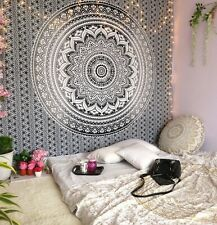 Indian Mandala Wall Hanging Bedding Cotton Tapestry Hippie Bohemian Psychedelic