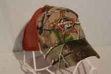 PBR Baseball Cap RealTree Camo Mesh Trucker Hat Professional Bull Riders Rodeo