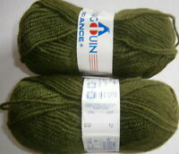 PINGOUIN FRANCE+   - LOT OF 11X50GR.BALLS  DK WEIGHT  50% WOOL-50% AC