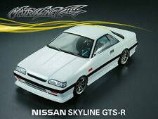 1/10 Nissan Skyline GTS-R 190mm RC Car Transparent Body 201209