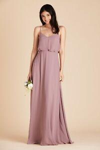 Birdy Grey Dark Mauve Gwennie Bridesmaid Dress Size Medium