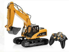 Large Metal Construction Toys Excavating RC Excavator Digger Kid tractor NEW