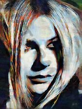 AVRIL LAVIGNE GOODBYE LULLABY ART PRINT POSTER OIL PAINTING LFF0011
