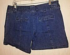 CABELAS casuals blue denim casual shorts tag size 14 actual W36 L6 rise 9.5