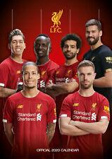 Liverpool FC 2020 Calendar, A3 Poster Wall Calendar OFFICIAL MERCHANDISE