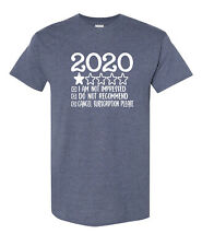 2020 Ratings Do Not Recommend One Star Cancel Subscription Please Funny T-Shirt