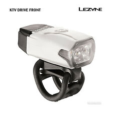 NEW Lezyne KTV DRIVE USB Rechargeable Front Bicycle Head Light : WHITE