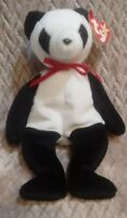 Ty Beanie Baby Fortune the Panda Bear #4196 Collectible 1998 Plush Toy W/ Tags