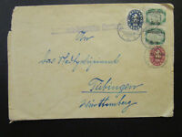 Germany 1922 Cover / Inverted & Re-Used Cover - Z6851