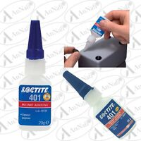 Locttlf / Loctite 401 20g Instant Adhesive Industrial Strength Fast Super Glue