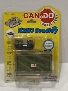 🔥DRAGON MODELS CanDo Pocket Army M2/M3 Bradley 20059 M270 MLRS RARE HTF MOC NEW